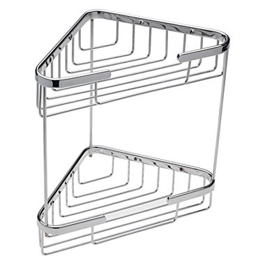 Adele Double Triangular Corner Basket