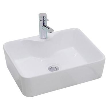 Alana 480mm Rectangular Countertop Basin