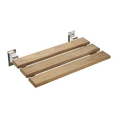 Alyssa Wooden Folding Shower Seat