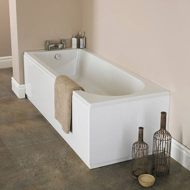 Amadeus Curve Single Ended Bath - 1500 & 1600 & 1700 x 700mm