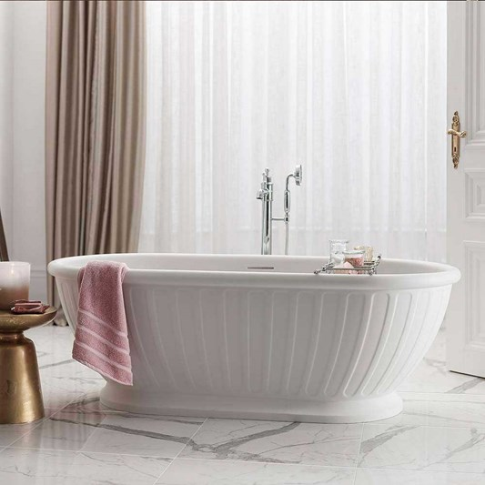 Arcade Albany Natural Stone Bath - 1690 x 800mm