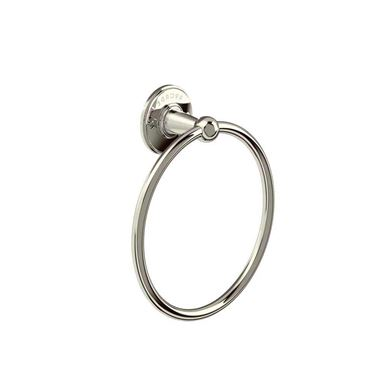 Arcade Nickel Wall Mounted Towel Ring