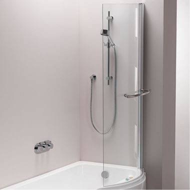 ArmourCast Arco Showerbath Universal Bath Screen