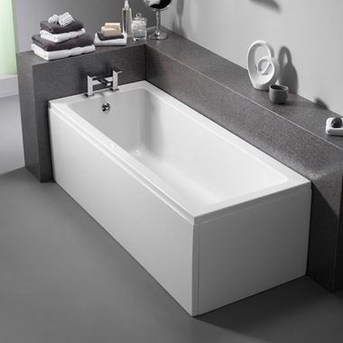 ArmourCast Bloque Single Ended Bath (Inc Leg Pack) - 1600 & 1700 x 700mm & 1700 x 750mm