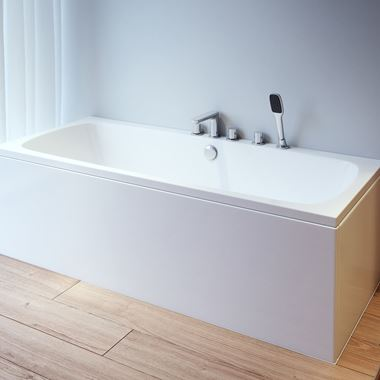 ArmourCast Platto Double Ended Bath - 1680 x 755mm