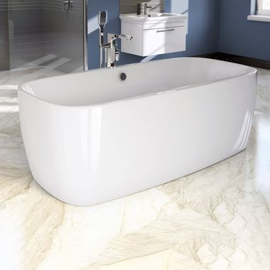 ArmourCast Platto Freestanding Bath - 1700 x 810mm