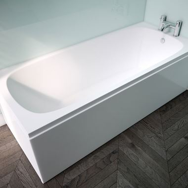 ArmourCast Platto Single Ended Bath (Inc Leg Pack) - 1675 x 700mm