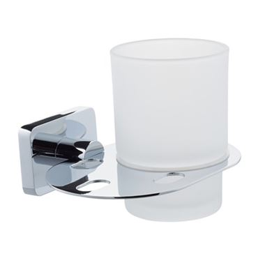 Bailey Glass Tumbler & Holder