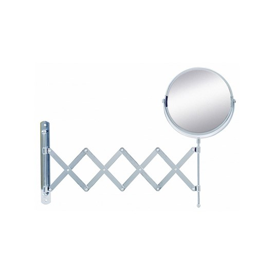 Bathroom Origins Reversible Extendable Magnifying Wall Mirror - 190 x 380mm