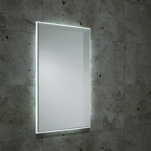 Bathroom Origins Fractal Backlit LED Mirror
