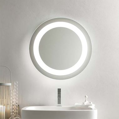 Bathroom Origins Halo Mirror - 600mm & 900mm