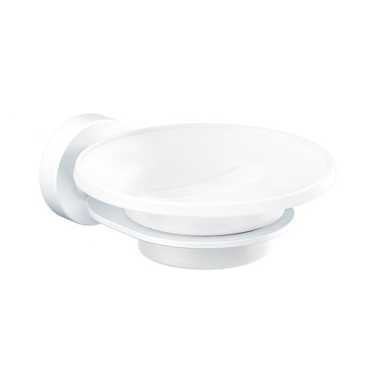 Sonia Tecno Project White Soap Dish - White
