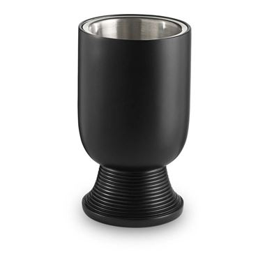Bathroom Origins Temple Black Tumbler