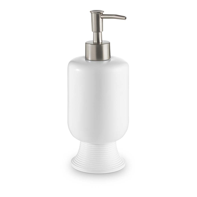 Bathroom Origins Temple White Soap Dispenser