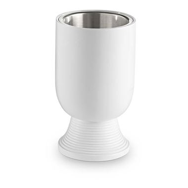 Bathroom Origins Temple White Tumbler