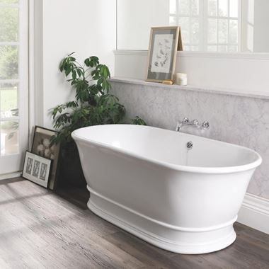 BC Designs Bampton Freestanding Bath - 1555 x 740mm