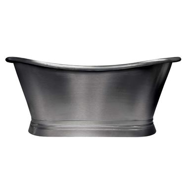 BC Designs Classic Roll Top Tin Boat Bath - 1500 x 700mm & 1700 x 725mm