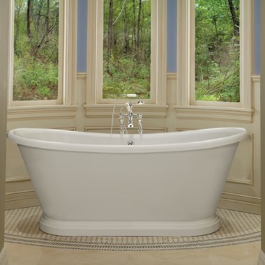BC Designs Double-Skinned Acrylic Boat Bath - L1800mm