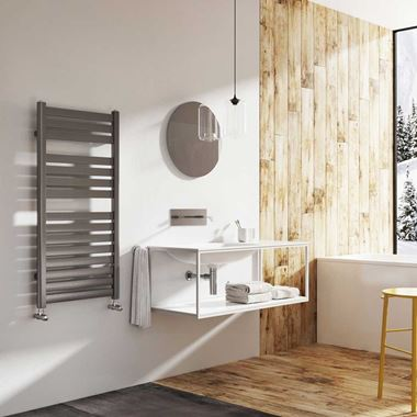 Brenton Suva Straight Heated Towel Rail - H1000mm