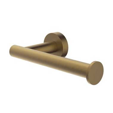 Britton Bathrooms Hoxton Single Toiler Roll Holder - Brushed Brass