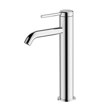 Britton Bathrooms Hoxton Slim Tall Basin Mixer Tap - Chrome