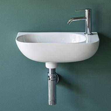 Britton Bathrooms Milan Cloakroom Basin - 265mm