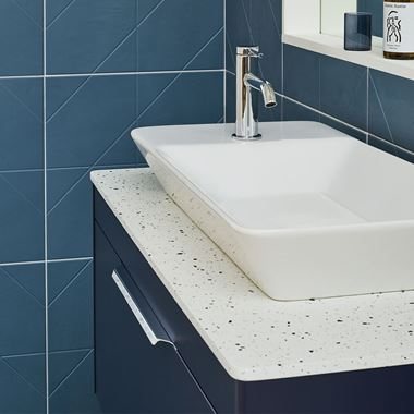 Britton Bathrooms Shoreditch Yacht Countertop Basin - 700mm
