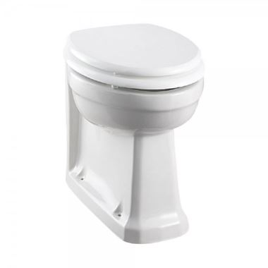 Burlington Comfort Height Regal Toilet & Soft Close Seat - 480mm Projection