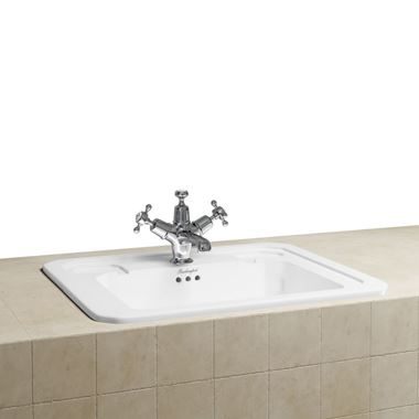 Burlington Contemporary Inset Countertop Basin