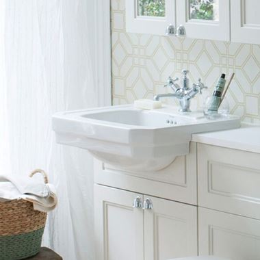 Burlington Contemporary Semi-Recessed Basin