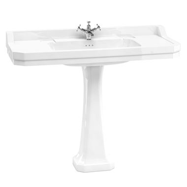 Burlington Edwardian 120cm Basin with Pedestal