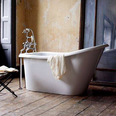 Burlington Emperor Slipper Bath - 1530 x 730mm