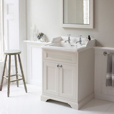 Burlington Freestanding 65 Vanity Unit with Classic Basin - 654mm