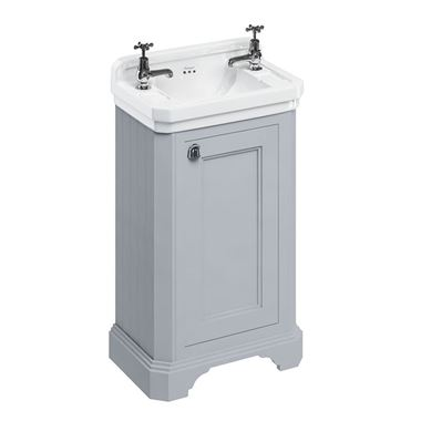 Burlington Freestanding Cloakroom Vanity Unit with Basin