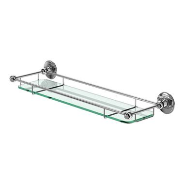 Burlington Glass Shelf with Railing - 532mm