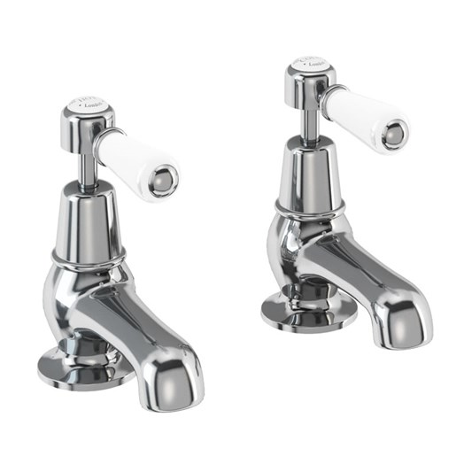 Burlington Kensington 3 or 5 Inch Basin Pillar Taps