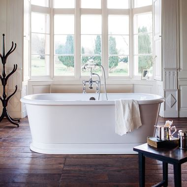 Burlington London Round Freestanding Bath -1800 x 850mm