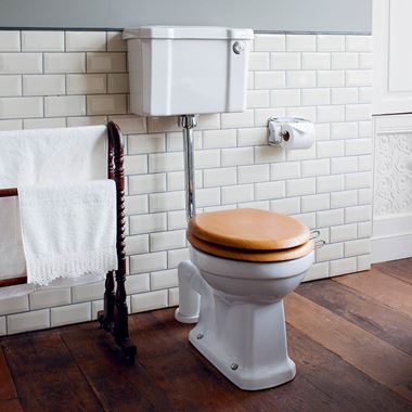 Burlington Low Level Toilet & Soft Close Seat - 740mm Projection