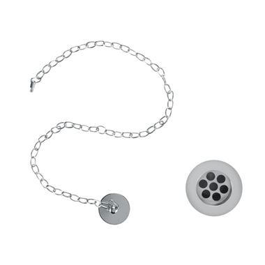 Burlington Slotted Basin Plug and Chain Waste
