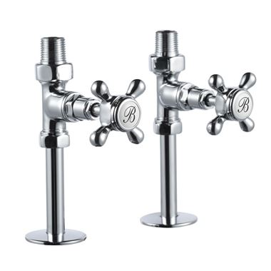 Burlington Straight Radiator Valves