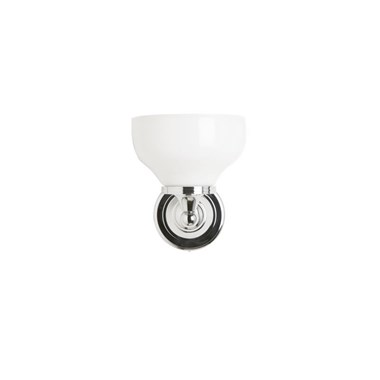 Burlington Wall Light with Frosted Glass Cup Shade
