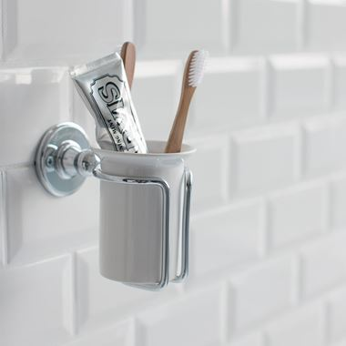 Burlington Wall Mounted Tumbler and Holder