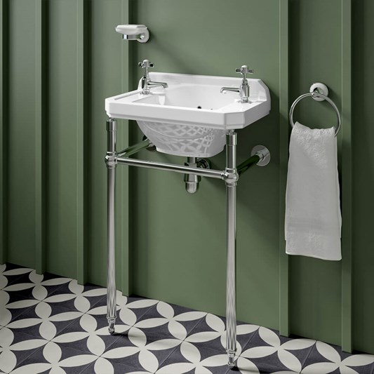 Butler & Rose Catherine Cloakroom Basin with Stand