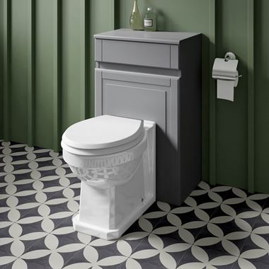 Butler & Rose Catherine Traditional Back to Wall Toilet - 520mm Projection