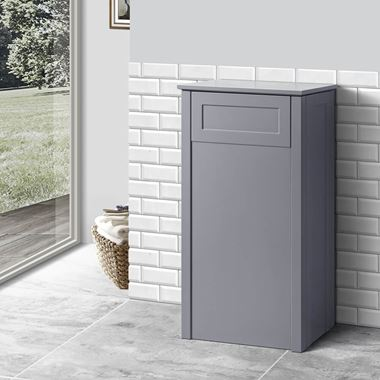 Butler & Rose Catherine 400mm Back to Wall Toilet Unit - Matt Grey