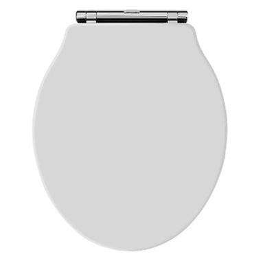 Butler & Rose Benedict White Soft Closing Top Fix Toilet Seat
