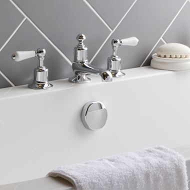 Butler & Rose Caledonia Lever 3 Hole Deck Mounted Bath Filler Tap