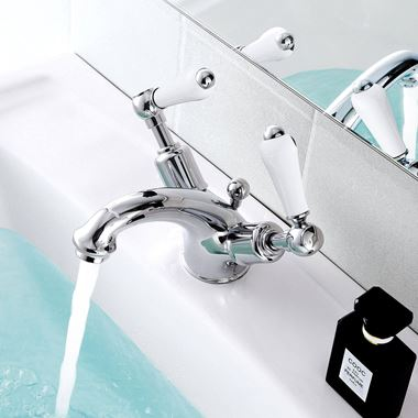 Butler & Rose Caledonia Lever Basin Mixer Tap With Waste