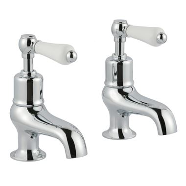 Butler & Rose Caledonia Lever Bath Pillar Taps
