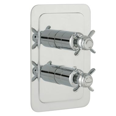 Butler & Rose Caledonia Pinch Vertical Concealed 2 Outlet Shower Valve
